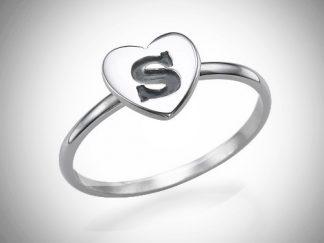 Ring, simpel, sølvring, sterlingsølv
