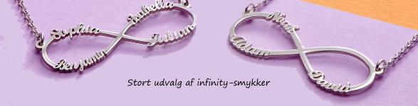 infinity / evighedssmykker