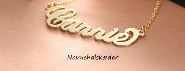 navnehalskæde smykker
